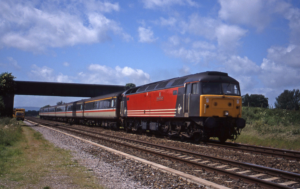 47845, 08.48 Penzance-Manchester Piccadilly, Cogload, 9-6-98.