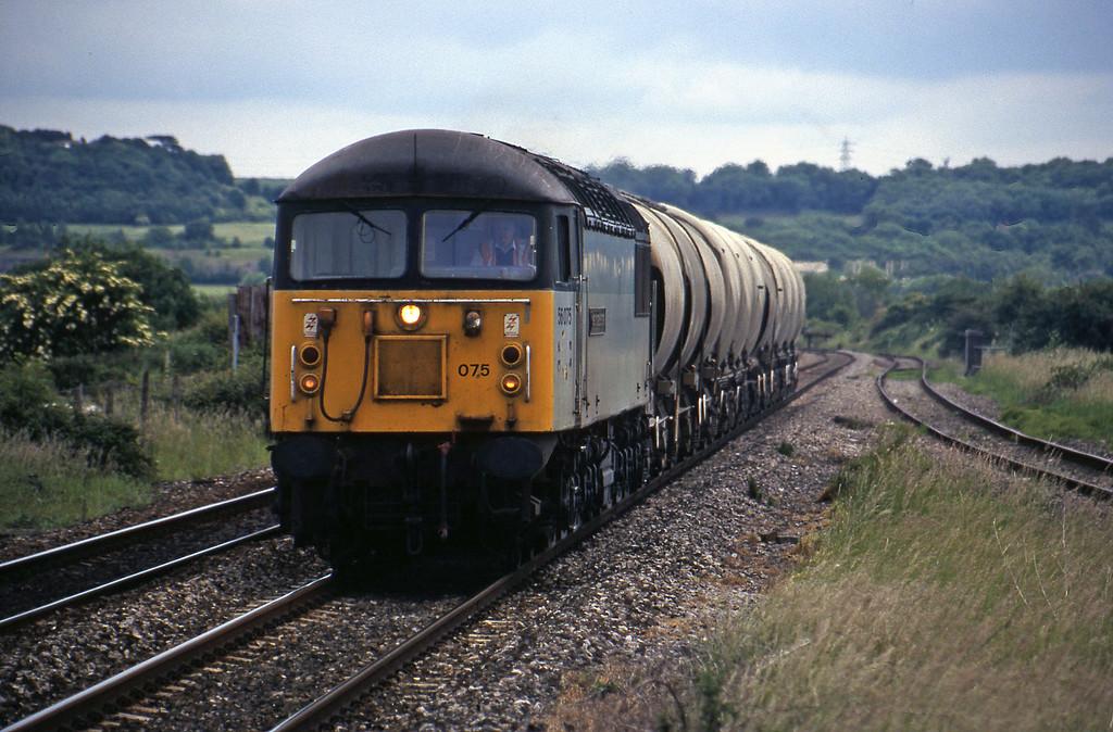 56075, 11.42 Westbury-Newport Alexandra Dock Junction, Pilning, 11-6-98.