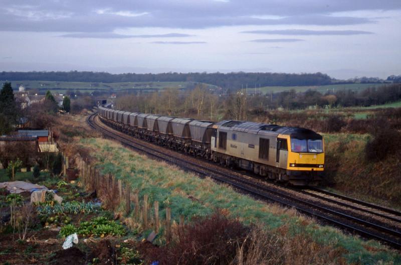 60071, 09.00 Avonmouth Bulk Handling Terminal-Didcot Power Station, brentry, Bristol, 24-2-98.