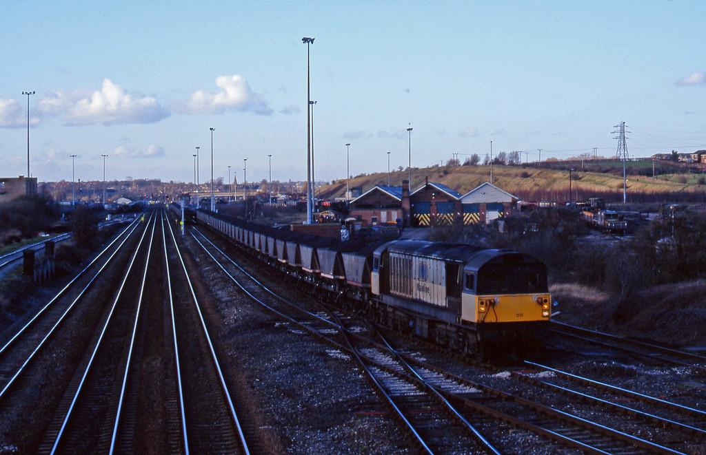 58031, mgr eastbound, Toton, Nottingham, 4-3-98.