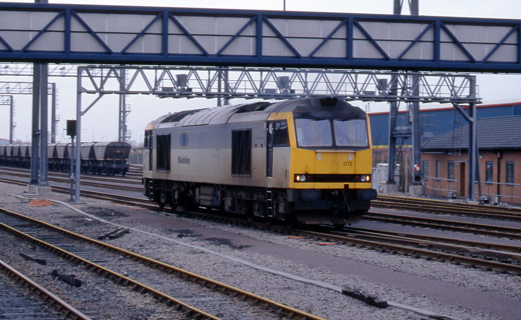 60072, parked, Avonmouth St Andrew's Road, 3-3-98.