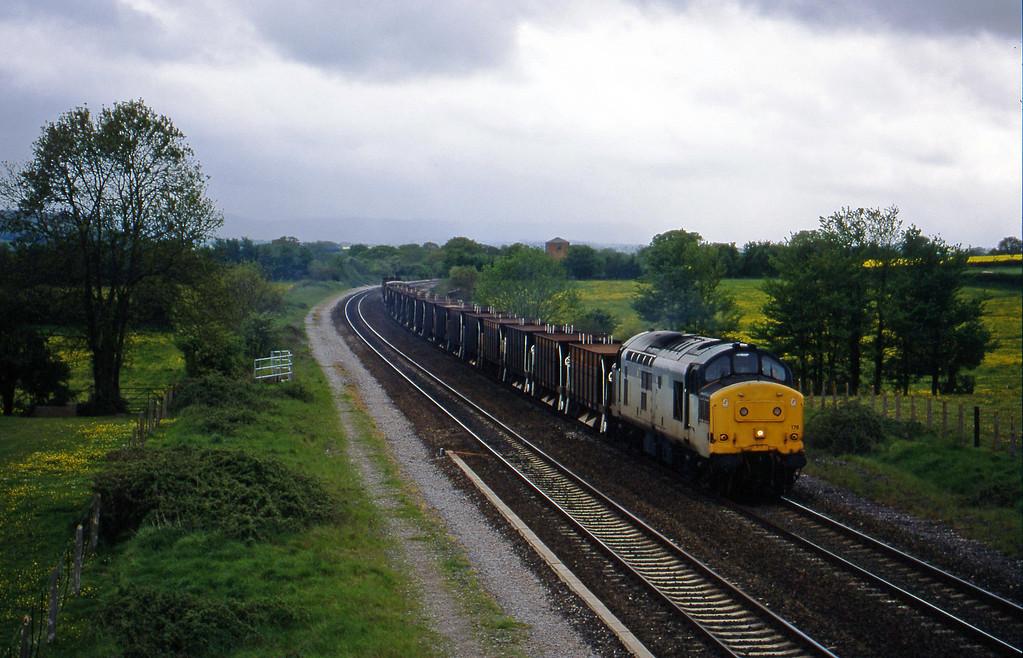 37178, 16.35 Exeter Riverside Yard-Newport Alexandra Dock Junction, Cogload, 6-5-98.