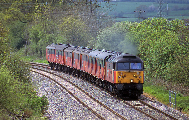 47793, 12.44 Plymouth-Glasgow, Whiteball, 7-5-98.