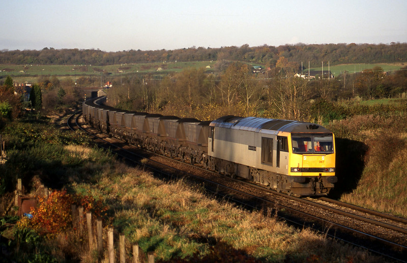 60067, Avonmouth Bulk Handling Terminal-Didcot Power Station, Brentry, Bristol, 10-11-98.