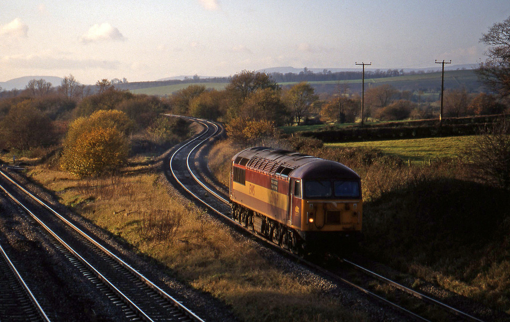 56069, up light, Llandevenny, near Llanwern, 24-11-98.