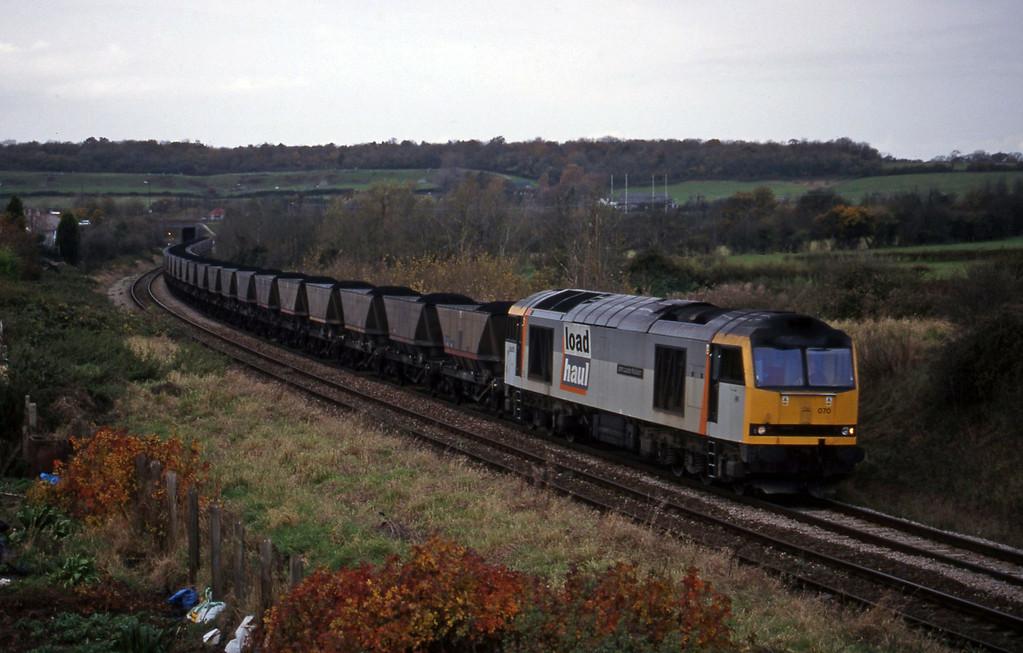 60070, Avonmouth Bulk Handling Terminal-Didcot Power Station, Brentry, Bristol, 11-11-98.