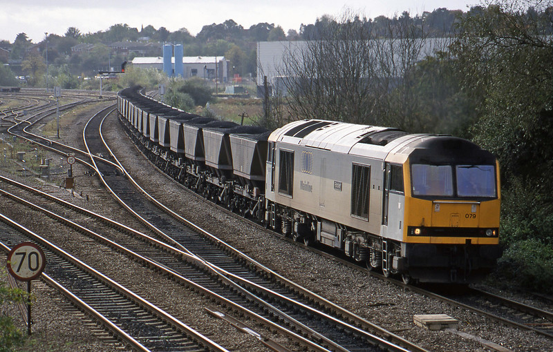 60079, Avonmouth Bulk Handling Terminal-Ironbridge Power Station, Didcot North Junction, 21-10-98.