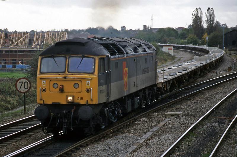 47218, 11.24 Southampton-Washwood Heath, Didcot North Junction, 21-10-98.