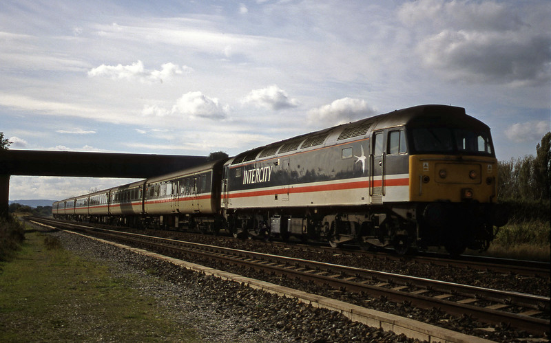 47826, 08.55 Penzance-Manchester Piccadilly, Cogload, 18-10-98 (Sunday).