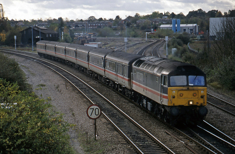 47839, down,  Didcot North Junction, 26-10-98.