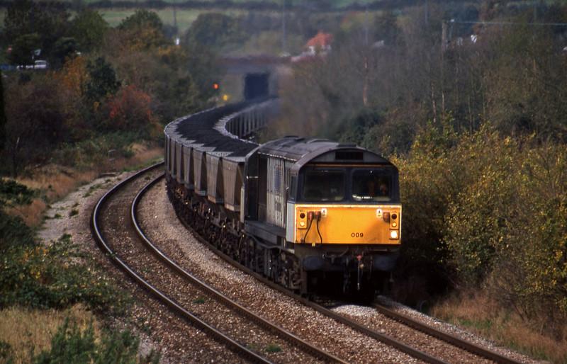 58009, Avonmouth Bulk Handling Terminal-Ironbridge Power Station, Brentry, Bristol, 28-10-98.