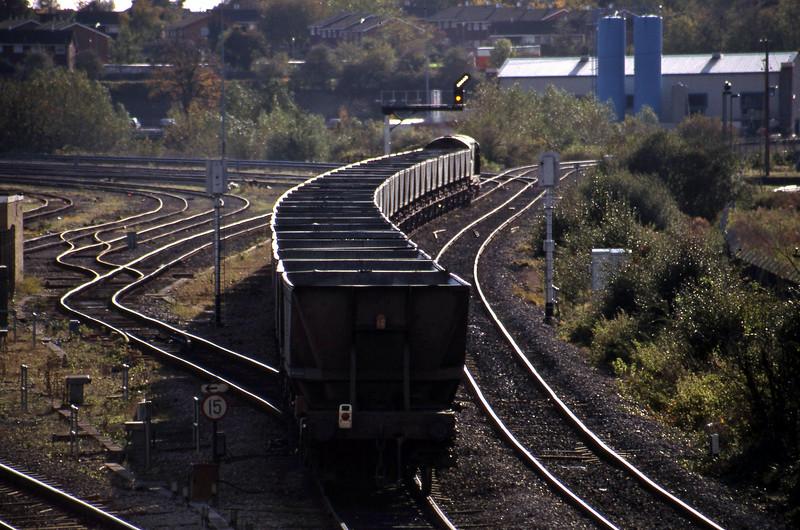 58019, Ironbridge Power Station-Avonmouth Bulk Handling Terminal, Didcot North Junction, 26-10-98.
