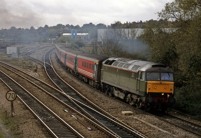 47488, down, Didcot North Junction, 21-10-98.