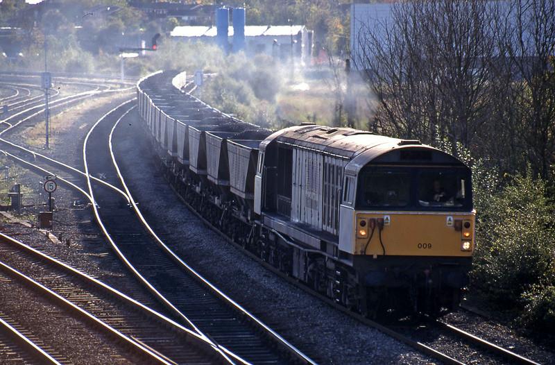 58009, Avonmouth Bulk Handling Terminal-Ironbridge Power Station, Didcot North Junction, 26-10-98.