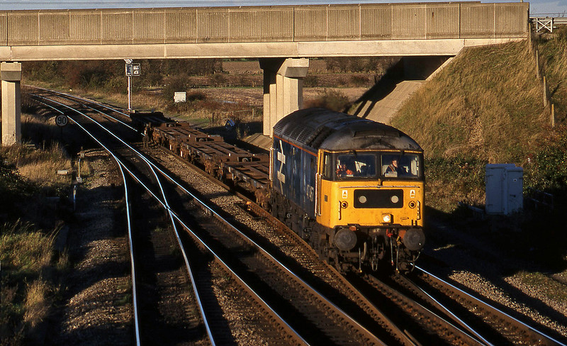 47467, north to west flats, Didcot North Junction, 26-10-98.