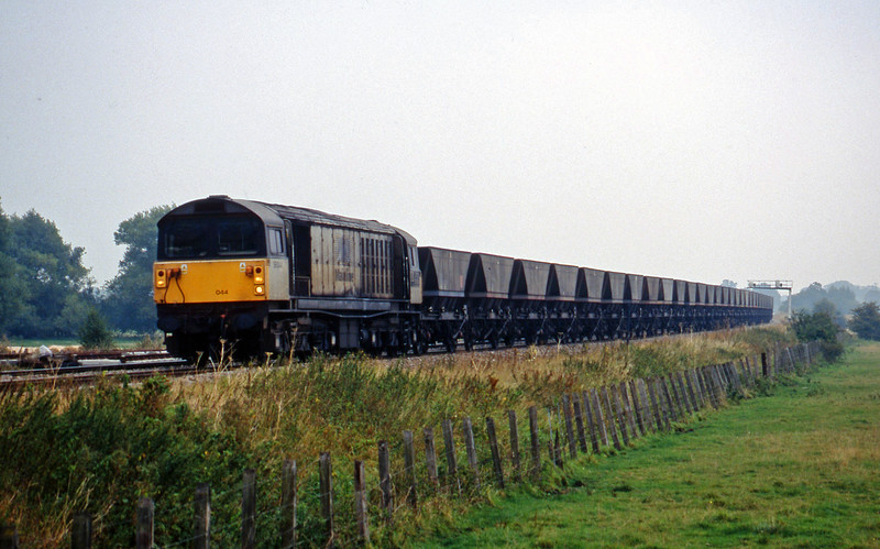58044, Didcot Power Station-Avonmouth Bulk Handling Terminal, Shrivenham, near Swindon, 22-9-98.