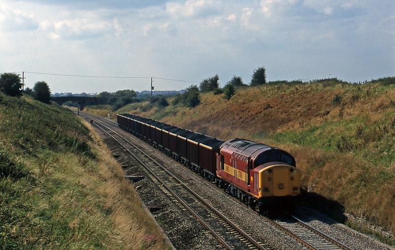 37703, 15.00 Avonmouth Bulk Handling Terminal-Rugby, Bourton, near Swindon, 3-9-98.