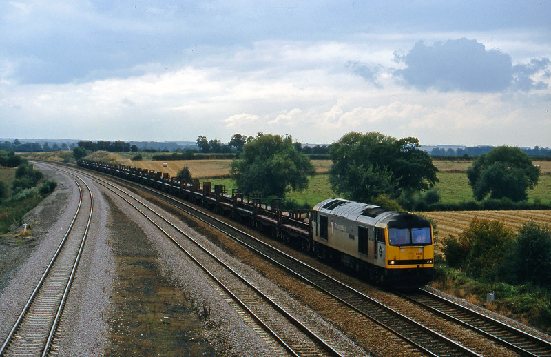 60032, down steel, Bolton Percy, near York, 8-9-98.