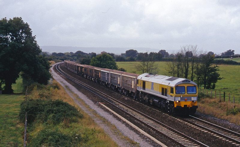59101, up stone empties, Cogload, 7-9-98.