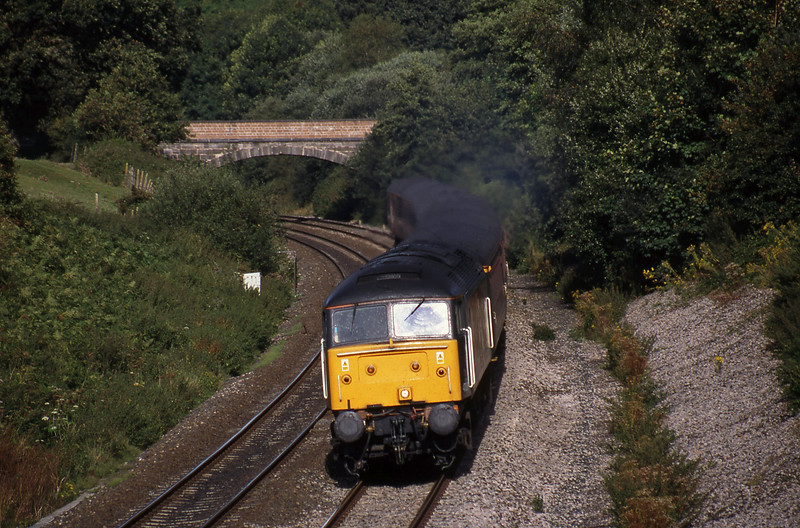 47806, 12.17 Manchester Piccadilly-Penzance, Whiteball, 1-9-98.