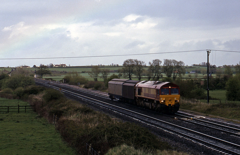 66026, 14.50 Newport Alexandra Dock Junction-St Blazey, Cogload, 21-4-99.
