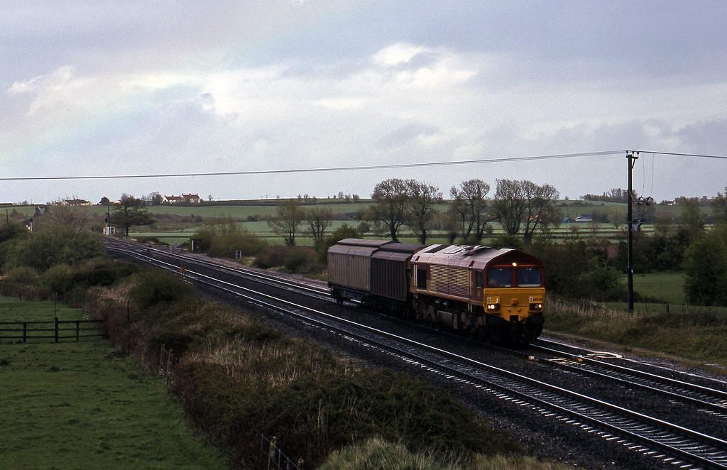 66026, 14.50 Newport Alexandra Dock Junction-St Blazey, Cogload, 21-4-99.