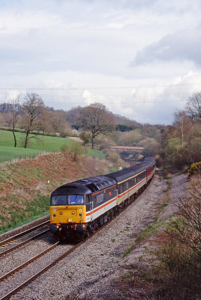 47854, 09.10 Liverpool Lime Street-Plymouth, Whiteball, 5-4-99.