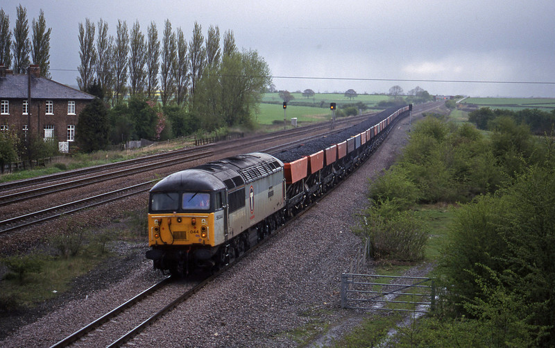 56044, up coal, Bolton Percy, near York, 13-4-99.