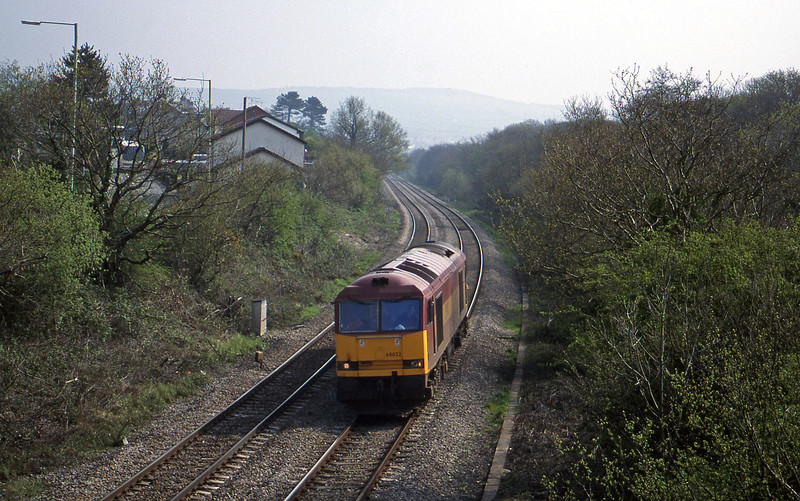 60022, down light, Brynna, near Bridgend, 27-4-99.