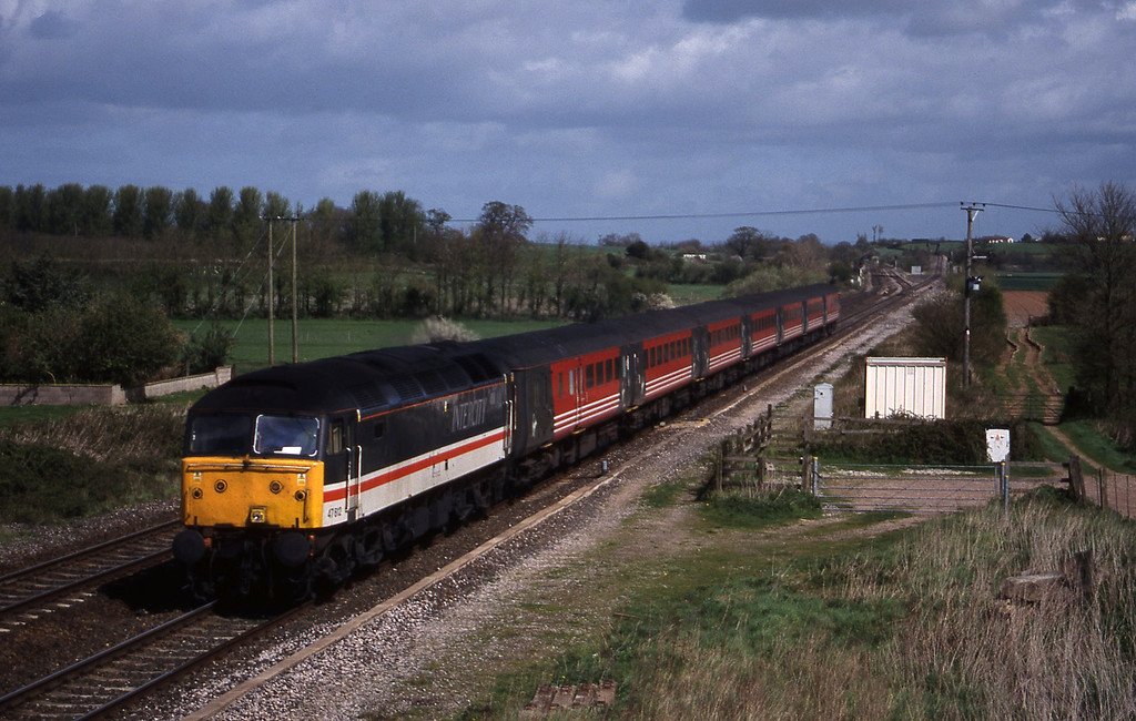 47812, 09.10 Liverpool Lime Street-Plymouth, Cogload, 6-4-99.
