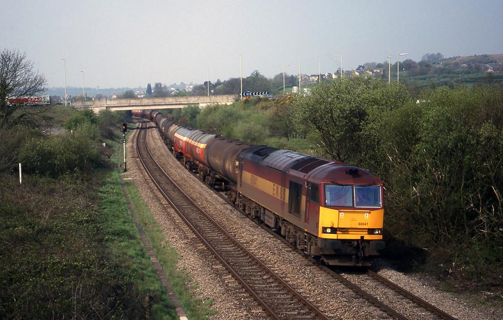 60041, 05.40 Robeston-Westerleigh, Brynna, near Bridgend, 27-4-99.