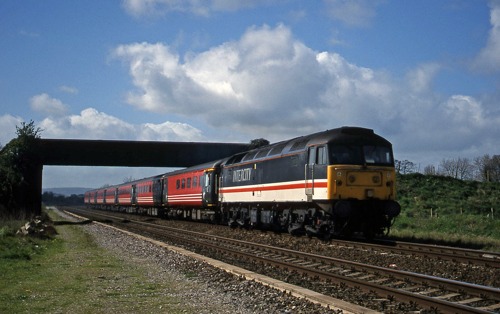47848, 08.48 Penzance-Manchester Piccadilly, Cogload, 6-4-99.