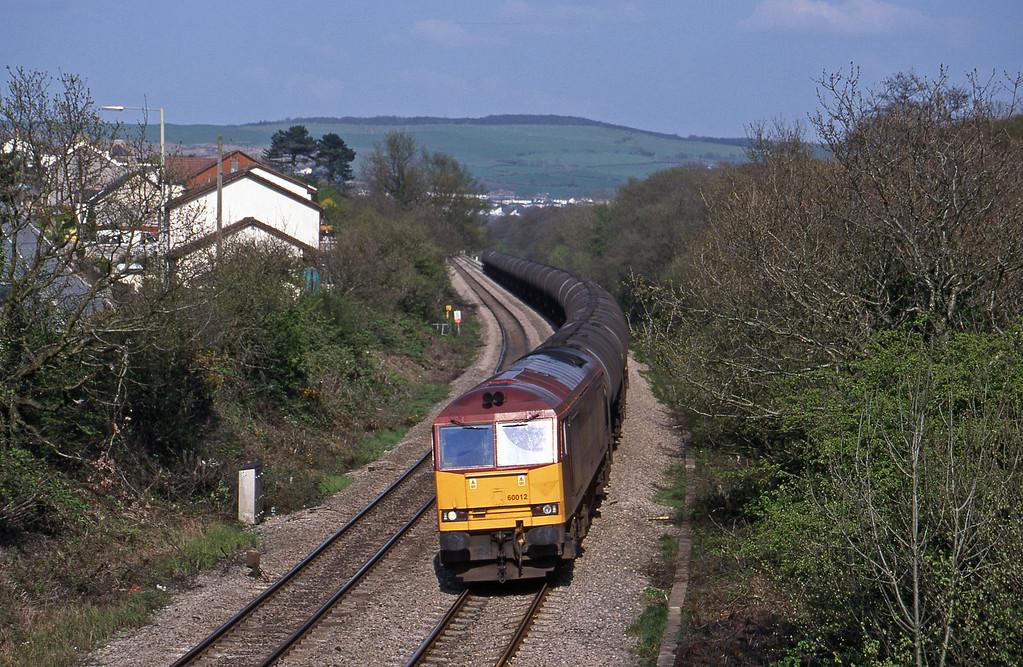 60012, 13.40 Theale-Robeston, Brynna, near Bridgend, 27-4-99.