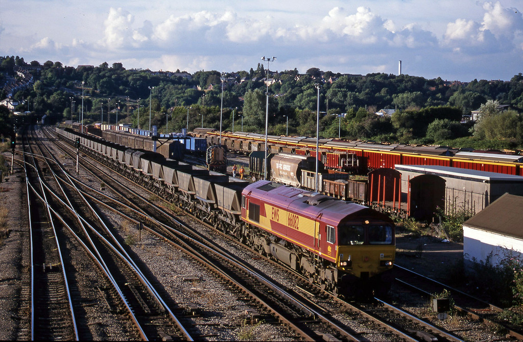 66082, 14.29 Ironbridge Power Station-Margam, Newport Alexandra Dock Junction, 3-8-99.