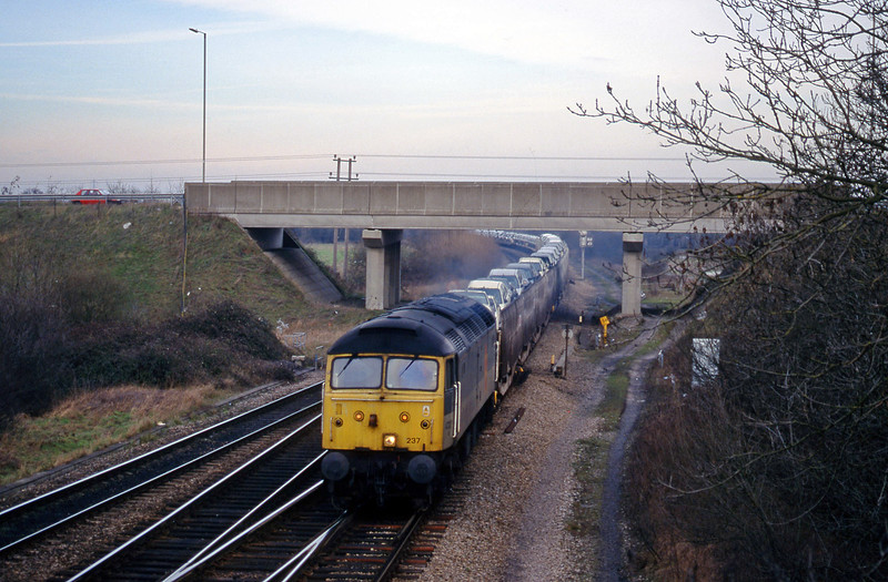 47237, 08.00 Washwood Heath-Dollands Moor, Didcot North Junction, 2-2-99.