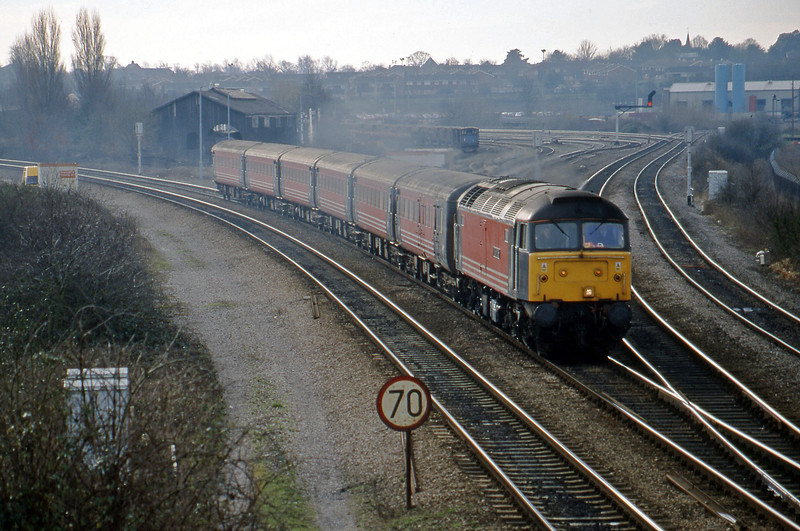 47807, down, Didcot North Junction, 2-2-99.