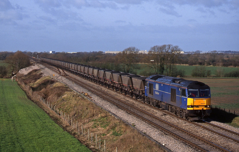 60078, Avonmouth-Didcot Power Station, Bourton, near Swindon, 16-2-99.