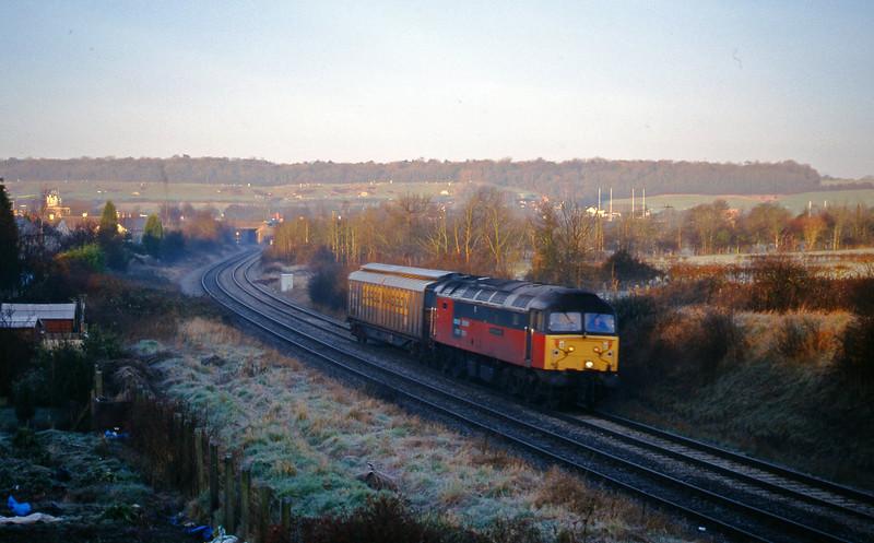 47738, Avonmouth Bulk Handling Terminal-Newport Alexandra Dock Junction, Brentry, Bristol, 2-2-99.
