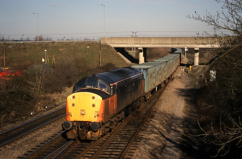 37516, 11.11 Calvert-Bath RTS, Didcot North Junction, 9-2-99.