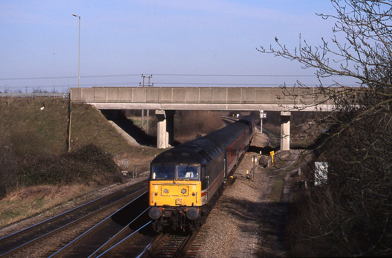 47829, up, Didcot North Junction, 9-2-99.