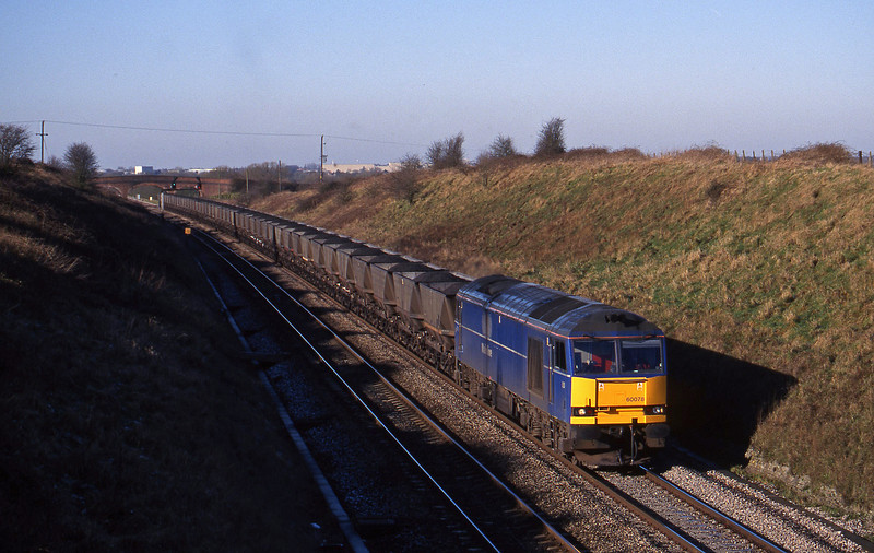 60078, Avonmouth Bulk Handling Terminal-Didcot Power Station, Bourton, near Swindon, 9-2-99.