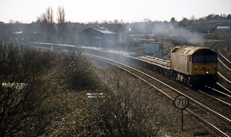 47284, 08.51 Southampton-Bordesley, Didcot North Junction, 9-2-99.