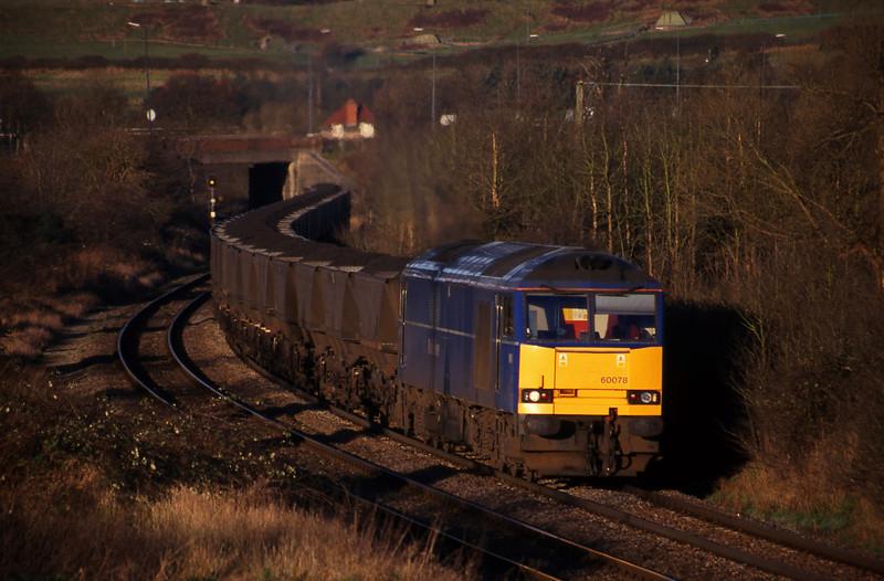 60078, Avonmouth Bulk Handling Terminal-Didcot Power Station, Brentry, Bristol, 9-2-99.