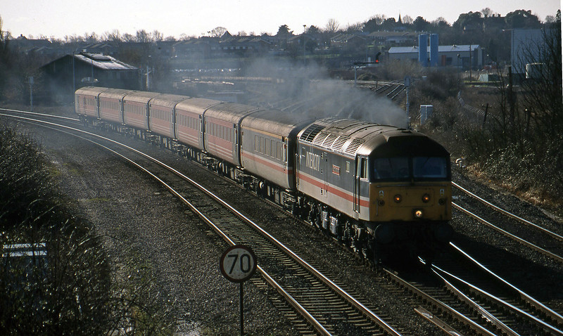 47831, down, Didcot North Junction, 9-2-99.