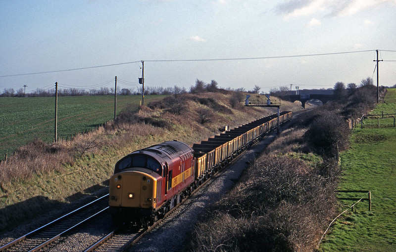 37703, down departmental, Bourton, near Swindon, 16-2-99.