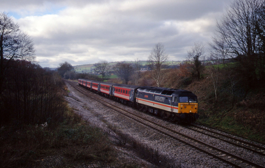 47831, 11.40 Plymouth-Liverpool Lime Street, Whiteball, 27-1-99.