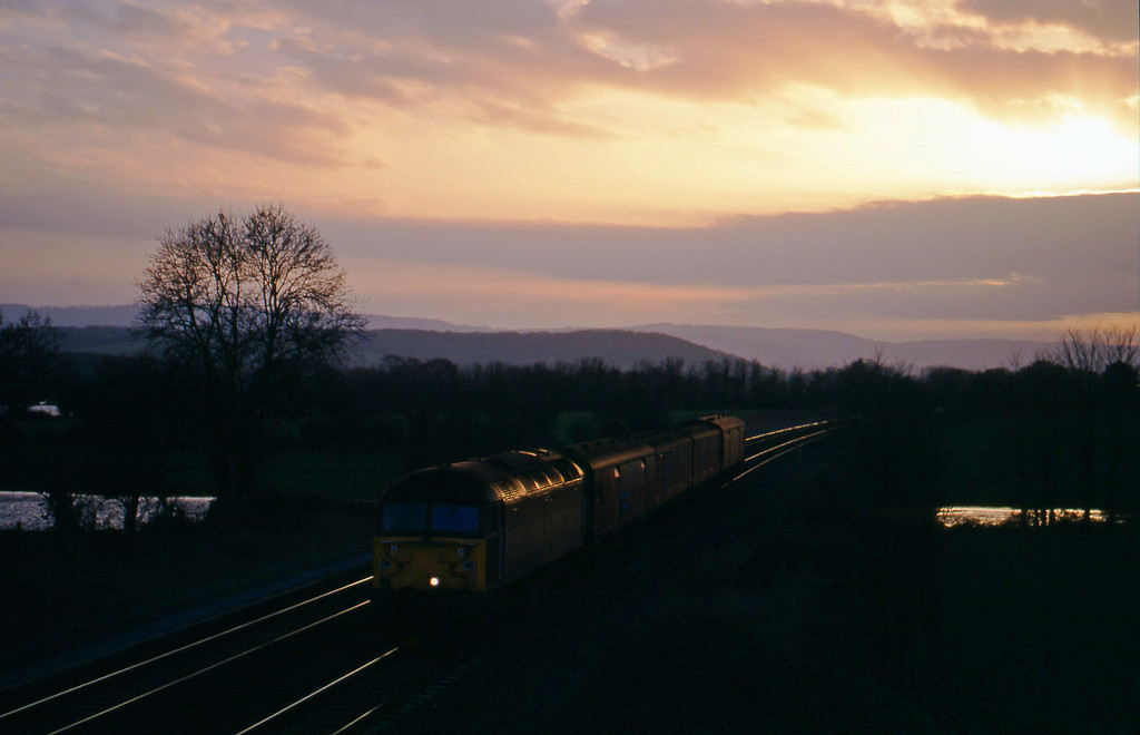47744, 13.53 Plymouth-Bristol Temple Meads, Cogload, 5-1-99.