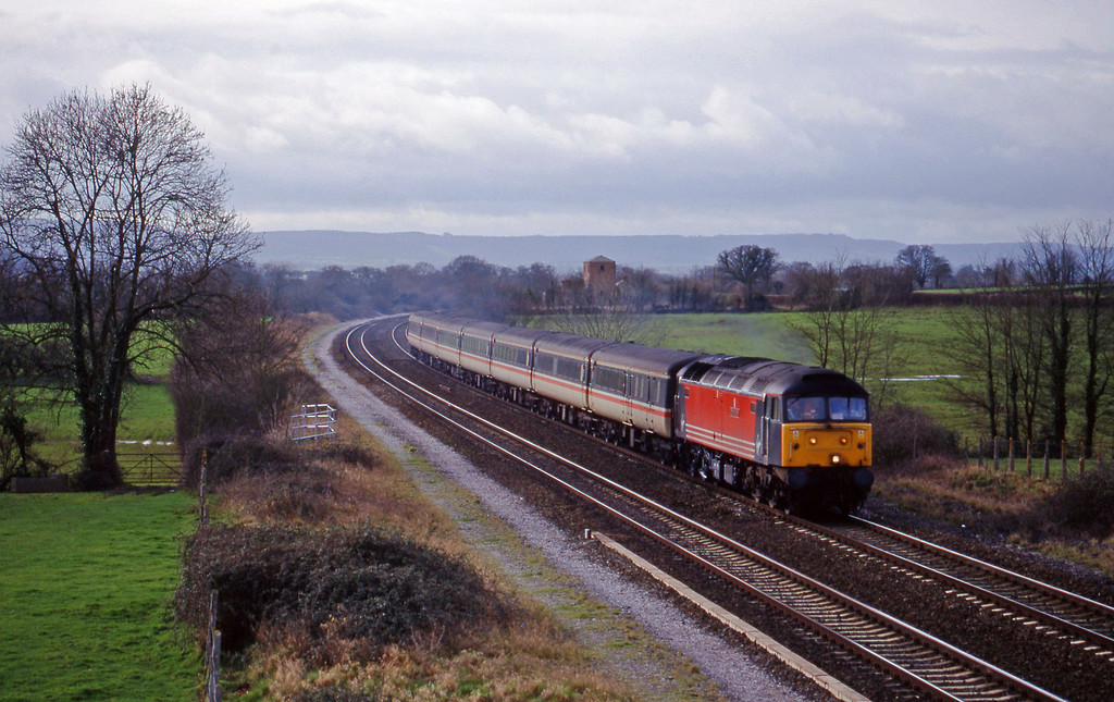 47845, 08.48 Penzance-Manchester Piccadilly, Cogload, 26-1-99.