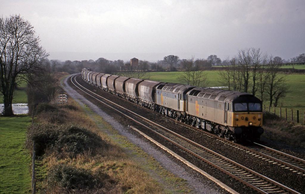 47194/47304, 10.25 Exeter Riverside Yard-Dollands Moor, Cogload, 5-1-99.