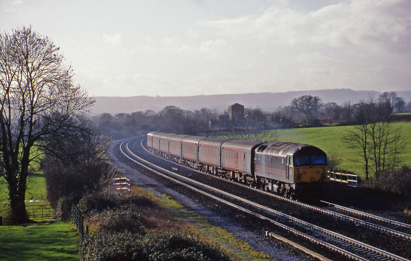 47703, 08.48 Penzance-Manchester Piccadilly, Cogload, 12-1-99.